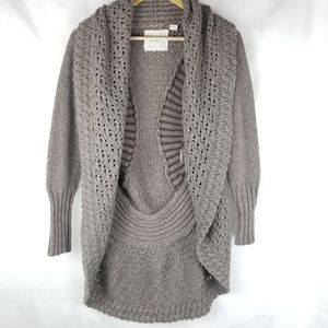 Angel of the North Anthro Open front Sweater XS